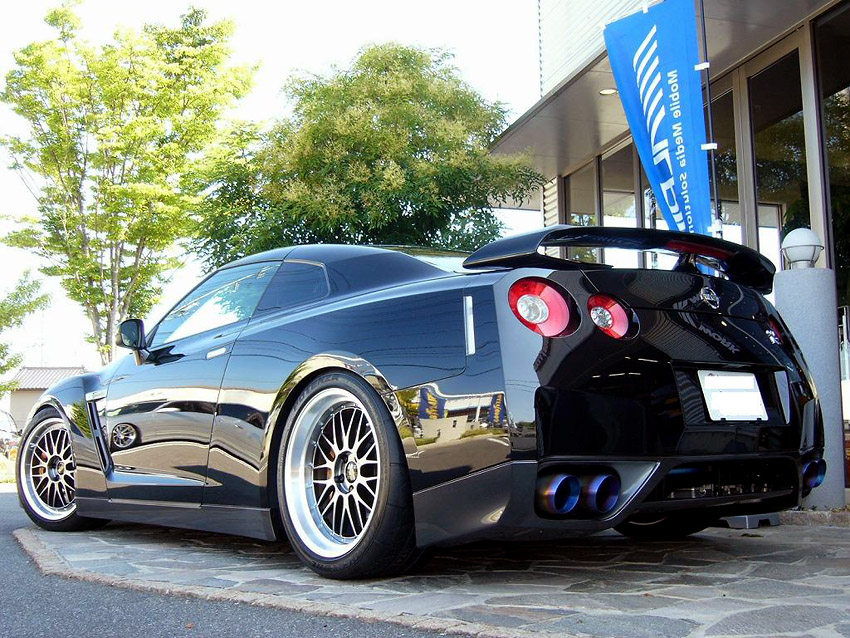 R35 GT-R Looking fabulous